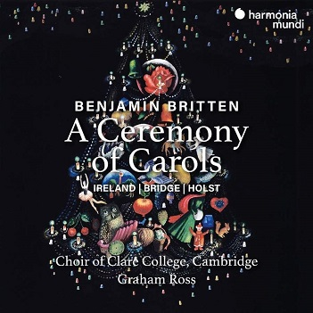 CHOIR OF CLARE COLLEGE CA - BRITTEN: A CEREMONY OF..