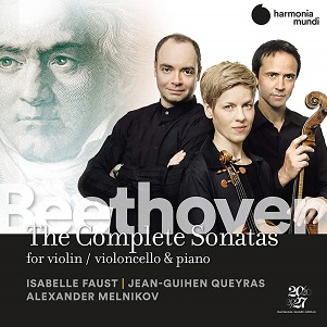 FAUST, ISABELLE/JEAN-GUIH - BEETHOVEN COMPLETE SONATA
