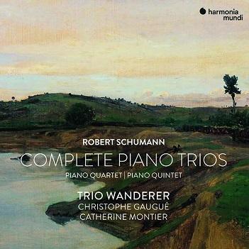 Trio Wanderer - SCHUMANN-PIANO TRIOS CPL