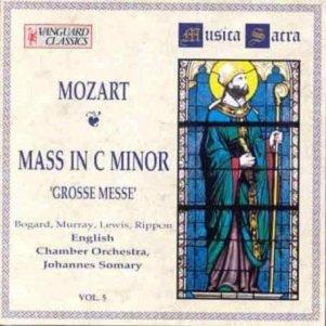 MOZART, WOLFGANG AMADEUS - MASS in C minor K 427 (The Great)