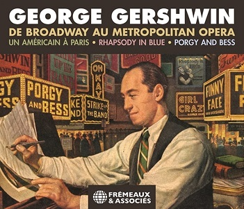 V/A - GEORGE GERSHWIN. DE BROADWAY AU METROPOLITAN OPERA