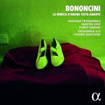 ENSEMBLE 415/CHIARA BANCH - BONONCINI: LA NEMICA..