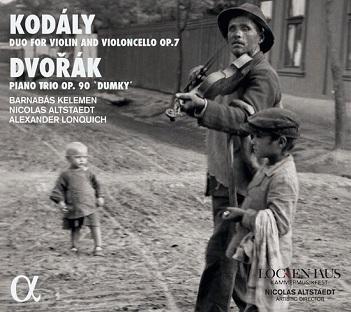 KELEMEN, BARNABAS/NICOLAS - KODALY/DVORAK: DUO FOR..