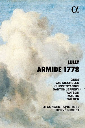 LULLY, J.B. - ARMIDE 1778 -CD+BOOK-