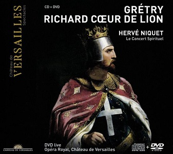 GRETRY, A.E.M. - RICHARD COEUR.. -CD+DVD-