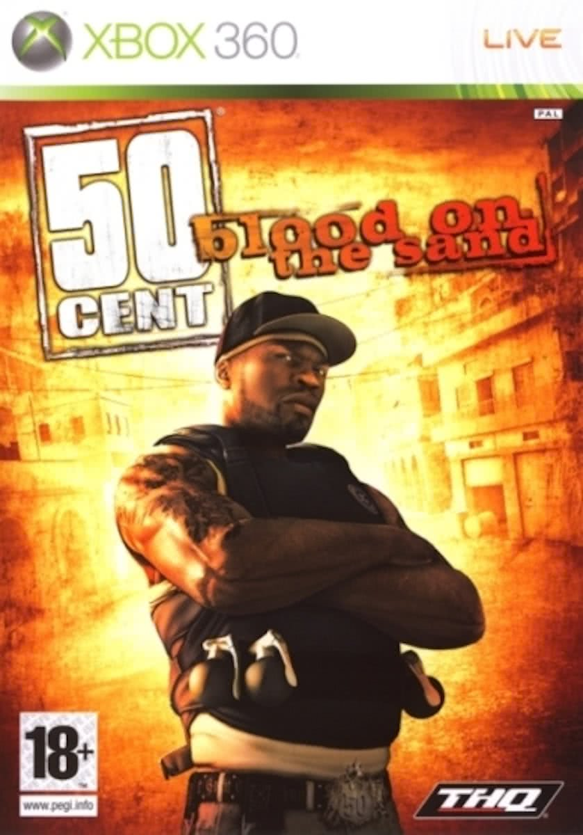 XBOX 360 - 50 Cent : Blood on the sand