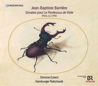 ECKERT, SIMONE - SONATES POUR LE PARDESSUS