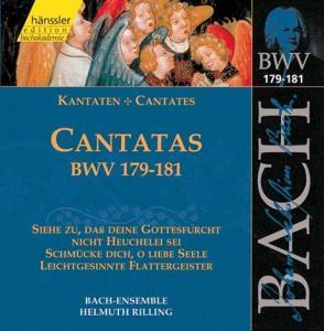 BACH, JOHANN SEBASTIAN - CANTATAS BWV 179-181