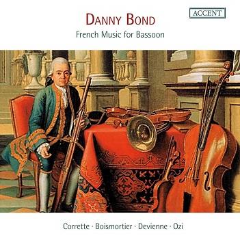 BOND, DANNY/RICHTE VAN DE - FRENCH MUSIC FOR BASSOON