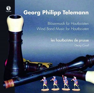 TELEMANN, G.P. - WIND BAND MUSIC FOR..