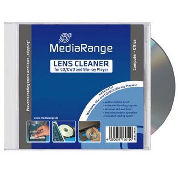 MEDIARANGE -  LENS CLEANER FOR CD/DVD PLAYER