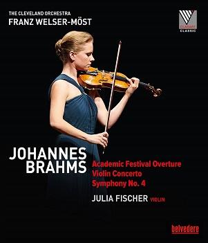 FISCHER, JULIA - BRAHMS: VIOLIN CONCERT..