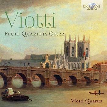 VIOTTI, G.B. - FLUTE QUARTETS OP.22