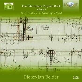 BELDER, PIETER-JAN - FITZWILLIAM VIRGINAL BOOK