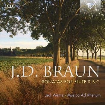 BRAUN, J.D. - SONATAS FOR FLUTE & B.C.