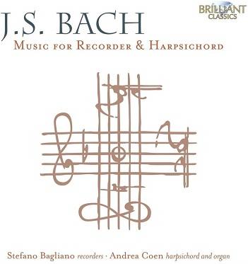 BAGLIANO, STEFANO / ANDRE - BACH: MUSIC FOR RECORDER