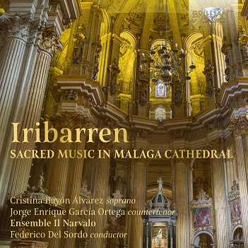 IRIBARREN, J.F. DE - SACRED MUSIC IN MALAGA CA