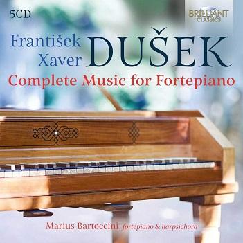 BARTOCCINI, MARIUS - DUSEK: COMPLETE MUSIC..