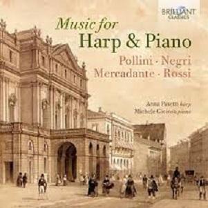 PASETTI, ANNA/MICHELE GIO - MUSIC FOR HARP & PIANO
