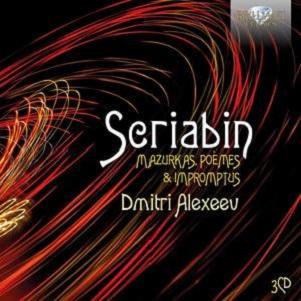 ALEXEEV, DMITRI - SCRIABIN: MAZURKAS,..