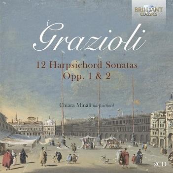GRAZIOLI, G.B. - 12 HARPSICHORD SONATAS OP