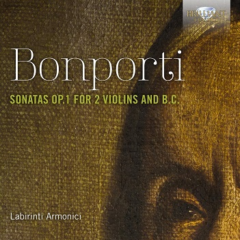 BONPORTI, F.A. - SONATAS OP.1 FOR TWO VIOL