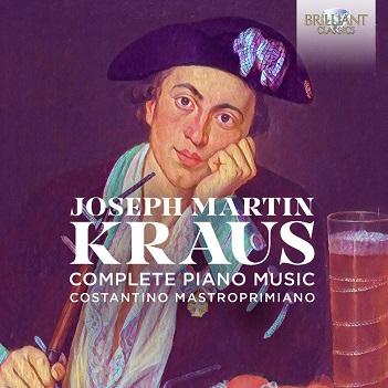 MASTROPRIMIANO, COSTANTIN - KRAUS: COMPLETE PIANO..