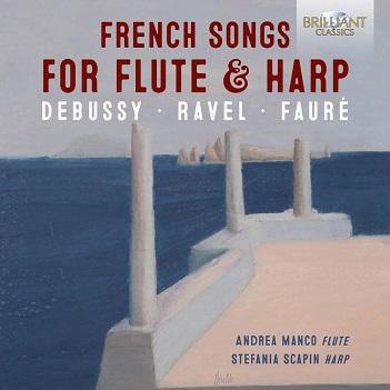 MANCO, ANDREA / STEFANIA - FRENCH SONGS FOR FLUTE..