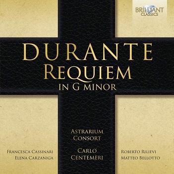 DURANTE, F. - REQUIEM IN G MINOR