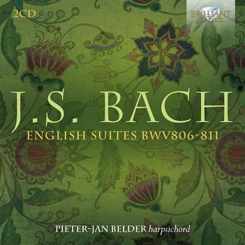 BELDER, PIETER-JAN - J.S. BACH: ENGLISH..