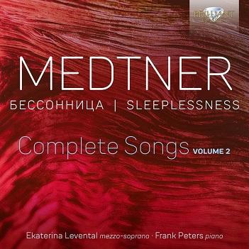 LEVENTAL, EKATERINA - MEDTNER: COMPLETE SONGS 2