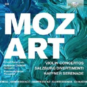 MOZART, W.A. - VIOLIN CONCERTOS, DIVERTI