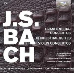 BACH, J.S. - BRANDENBURG CONCERTOS/ORC