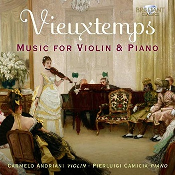 ANDRIANI, CARMELO / PIERL - VIEUXTEMPS: MUSIC FOR..