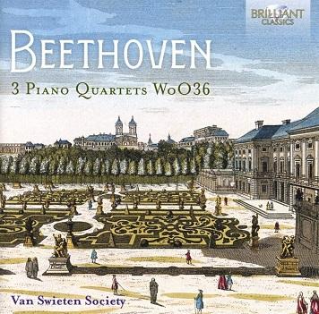VAN SWIETEN SOCIETY - BEETHOVEN: PIANO QUARTETS