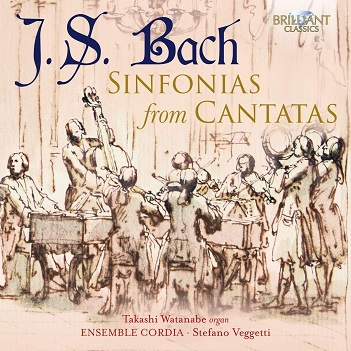 WATANABE, TAKASHI - BACH: SINFONIAS FROM CANT