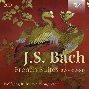 RUBSAM, WOLFGANG - BACH: FRENCH SUITES..