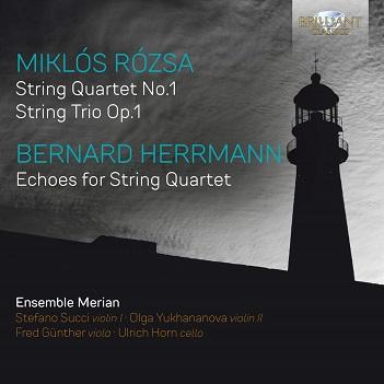ENSEMBLE MERIAN - ROZSA & HERRMANN: MUSIC..