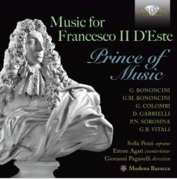 MODERNA BAROCCA - MUSIC FOR FRANCESCO II..