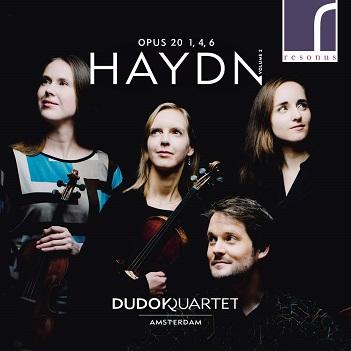 DUDOK QUARTET AMSTERDAM - HAYDN OPUS 20 1, 4, 6