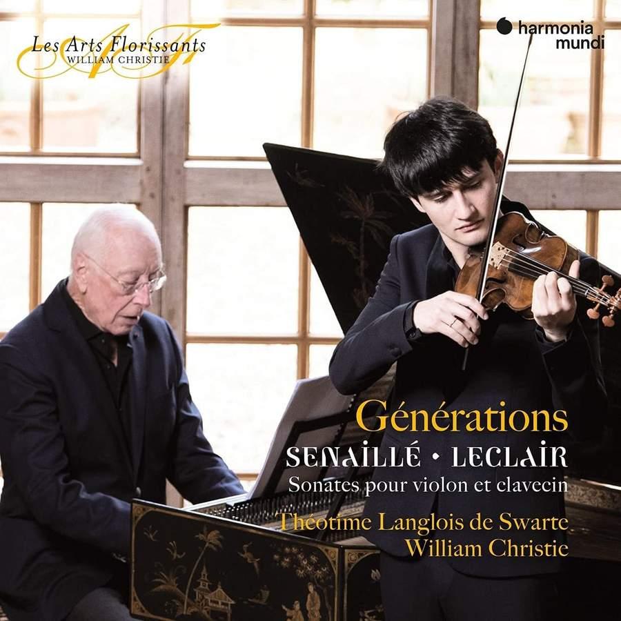 LANGLOIS DE SWARTE, THEOT - GENERATIONS - SENAILLE..