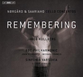 KULLBERG, JAKOB / BBC PHI - REMEMBERING: CELLO..