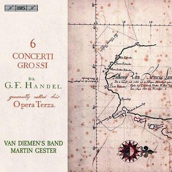 VAN DIEMEN'S BAND / MARTI - HANDEL: SIX.. -SACD-