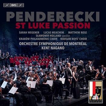 PENDERECKI, K. - ST LUKE PASSION -SACD-