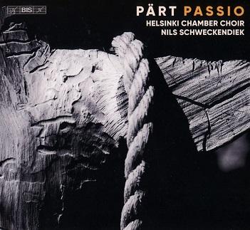 HELSINKI CHAMBER CHOIR / - ARVO PART: PASSIO -SACD-