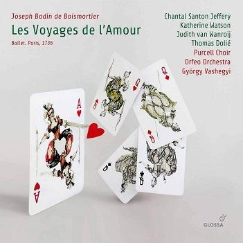 BOISMORTIER, J.B. DE - LES VOYAGES DE L'AMOUR