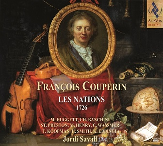 COUPERIN, F. - LES NATIONS 1726 -SACD-