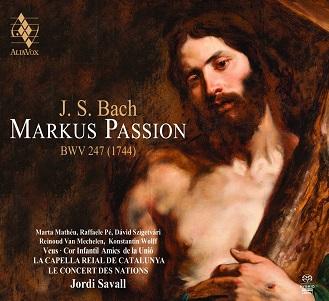 BACH, J.S. - MARKUS PASSION.. -SACD-