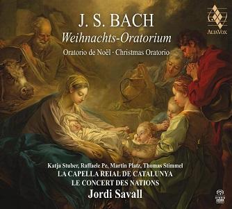 SAVALL, JORDI / LA CAPELL - BACH: WEIHNACHTS -SACD-