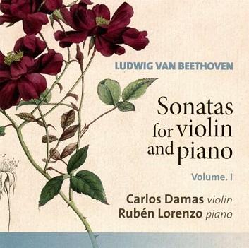 DAMAS, CARLOS/RUBEN LOREN - BEETHOVEN: SONATAS FOR..